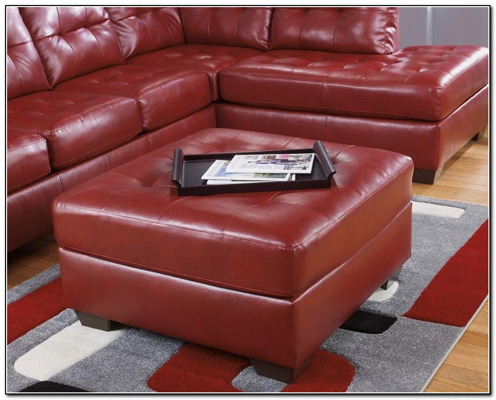 Ashley Furniture Red Sectional Sofa