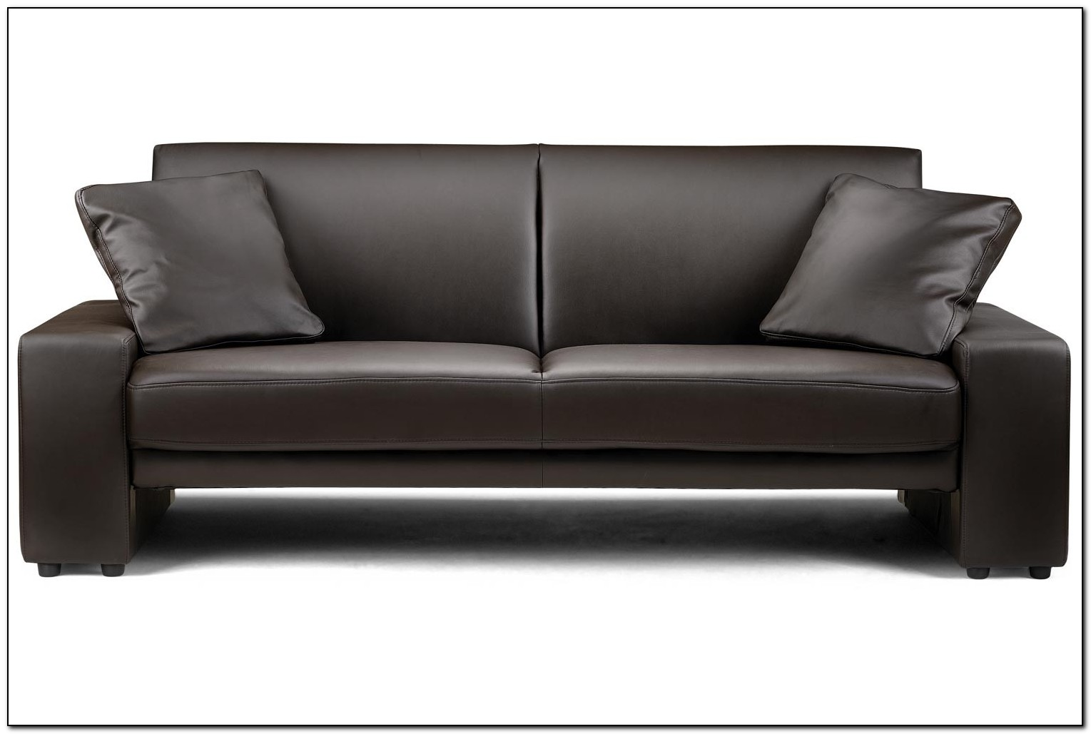Brown Leather Sofa Living Room Design