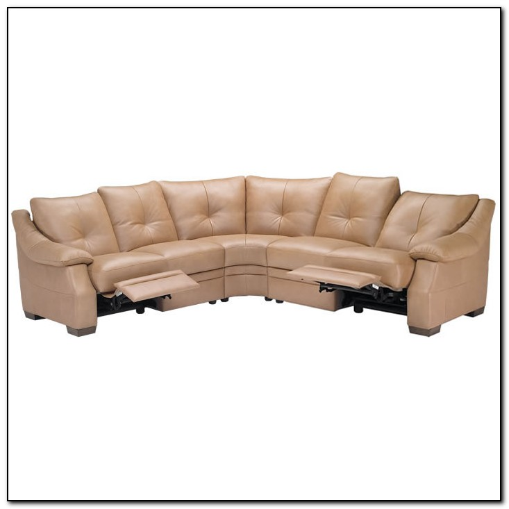 Corner Leather Recliner Sofa