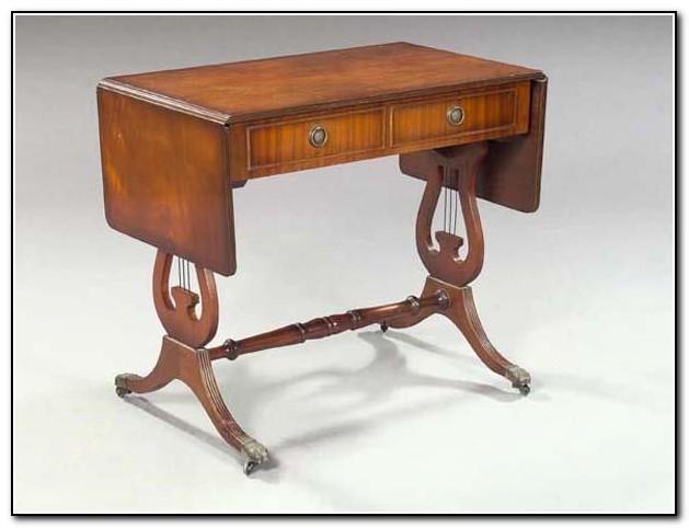 Duncan Phyfe Sofa Table