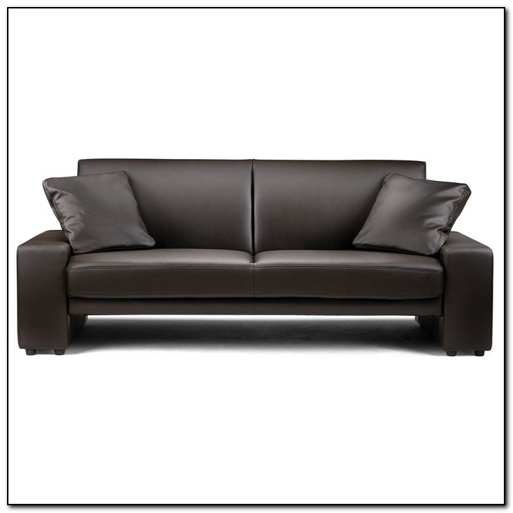 Faux Leather Sofa Beds