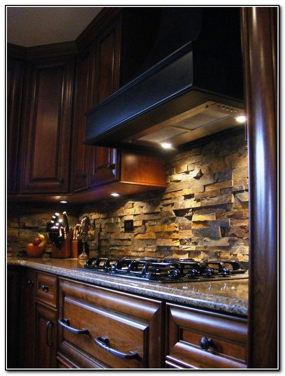 Kitchen Backsplash Ideas For Brown Granite Countertops