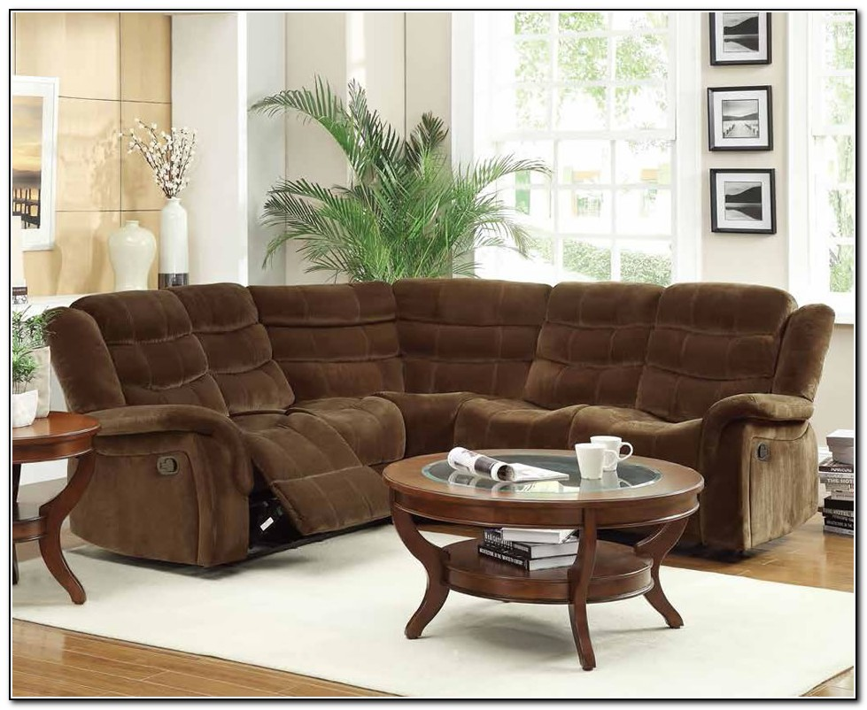 Reclining Sectional Sofas Microfiber