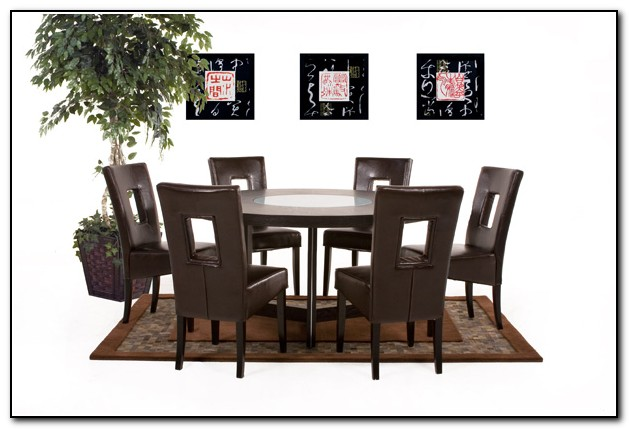 Round Kitchen Table Sets For 6