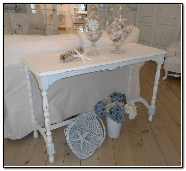 Shabby Chic Sofa Table