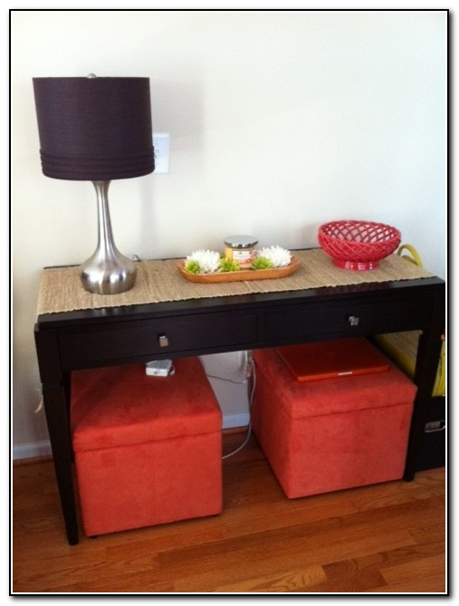 Sofa Table With Storage Target