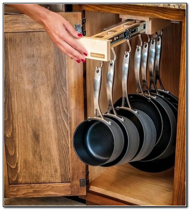 Diy Kitchen Cabinet Organizers