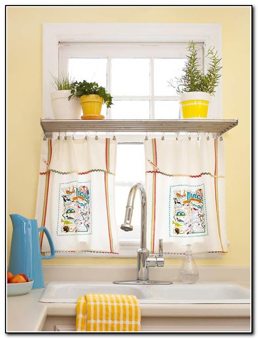 Kitchen Curtain Ideas Diy