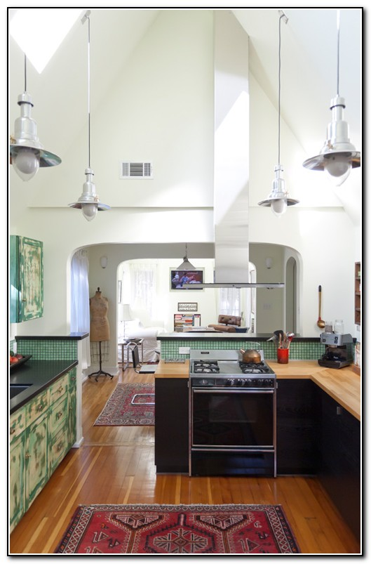 Kitchen Light Fixtures For High Ceilings