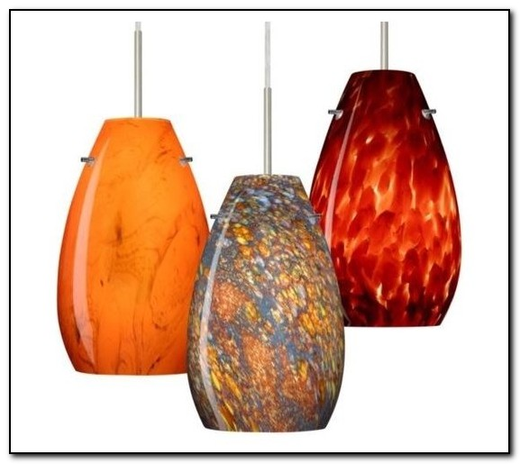 Kitchen Pendant Lighting Glass Shades