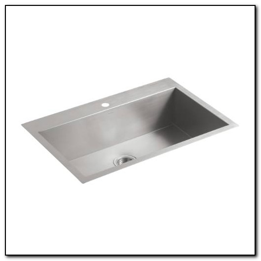 Kohler Kitchen Sinks Undermount Single Bowl