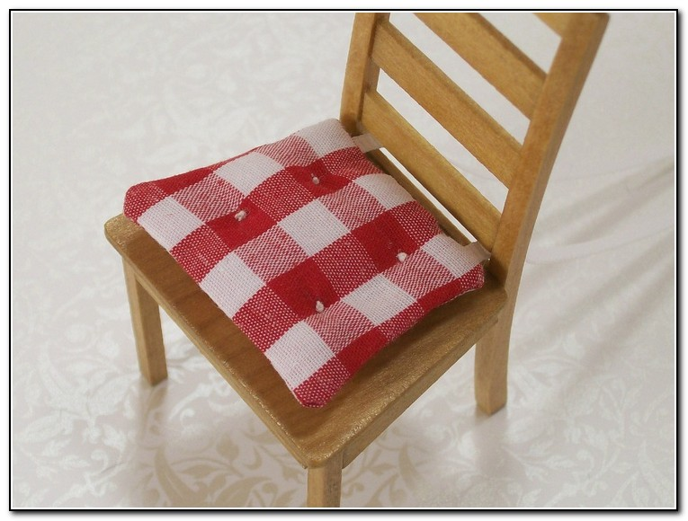 Red Kitchen Chair Cushions