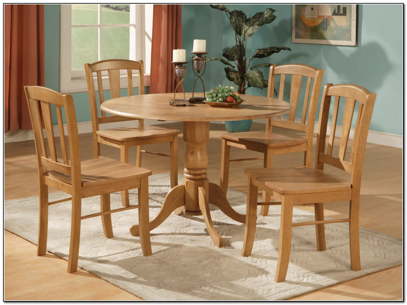 Round Kitchen Table Decorating Ideas