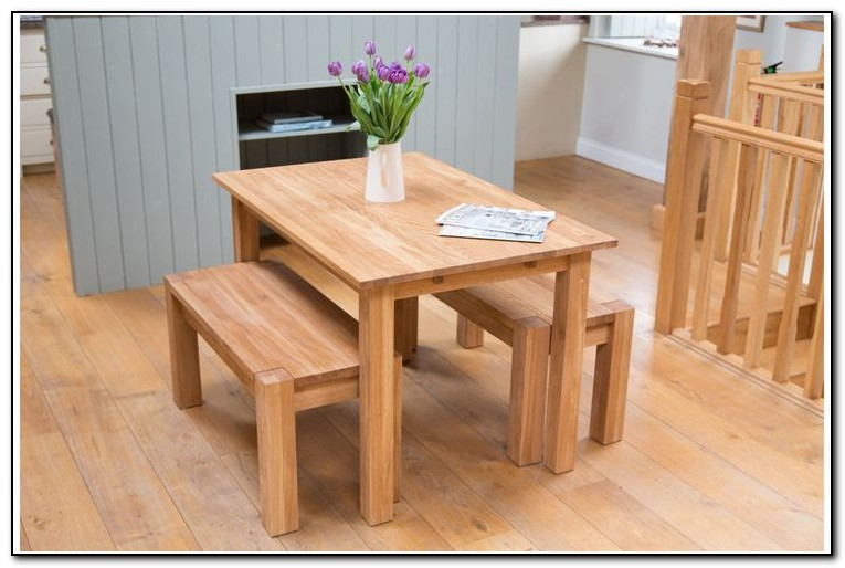 Small Kitchen Table With Bench