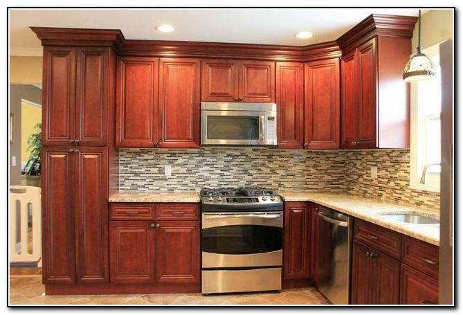 Cherry Kitchen Cabinets Photos