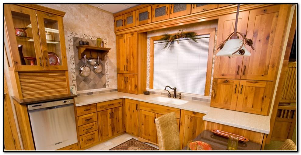 Cherry Kitchen Cabinets With Bronze Hardware