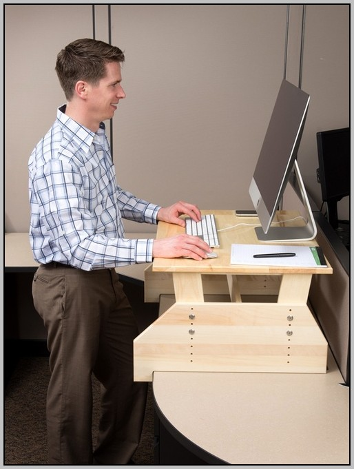 Adjustable Standing Desk Diy