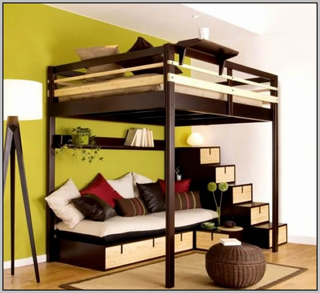 Bunk Bed Desk Couch