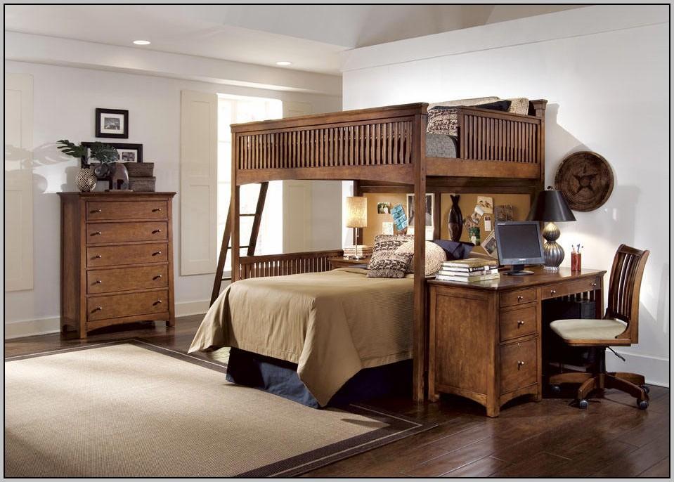Bunk Bed Desk Diy