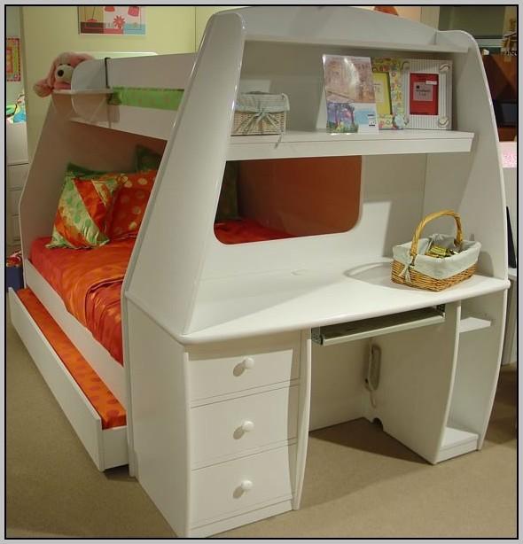 Bunk Bed Desk Dresser Combo