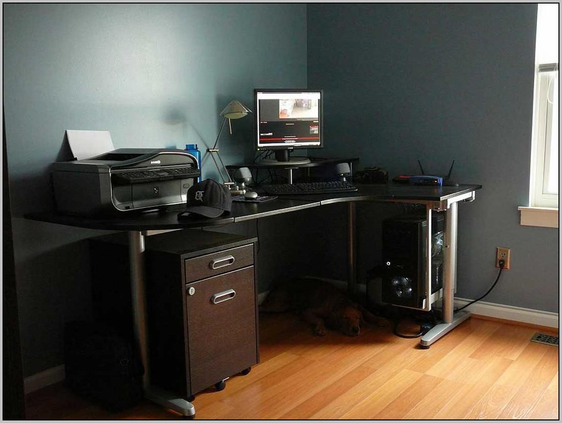 Corner Desk Ikea Black