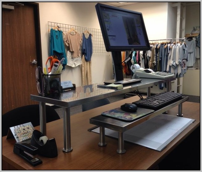 Diy Standing Desk Ikea