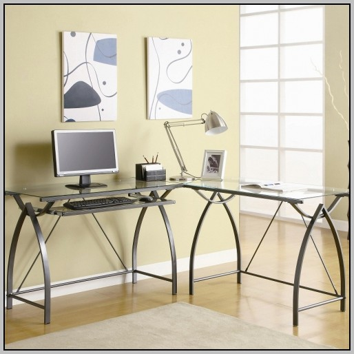 Glass Computer Desk Amazon
