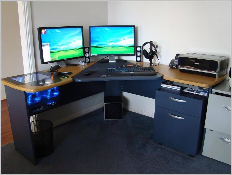 Ikea Corner Desk Hack