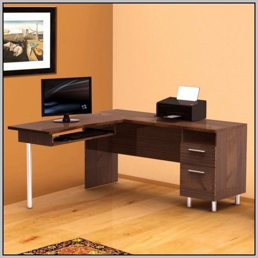 L Shaped Computer Desk Plans