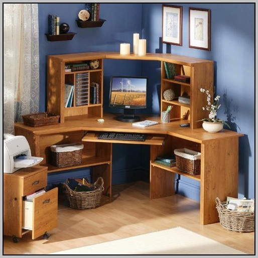 L Shaped Desk With Hutch Mainstays