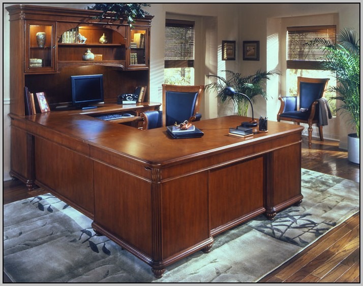 L Shaped Desk With Hutch Right Return