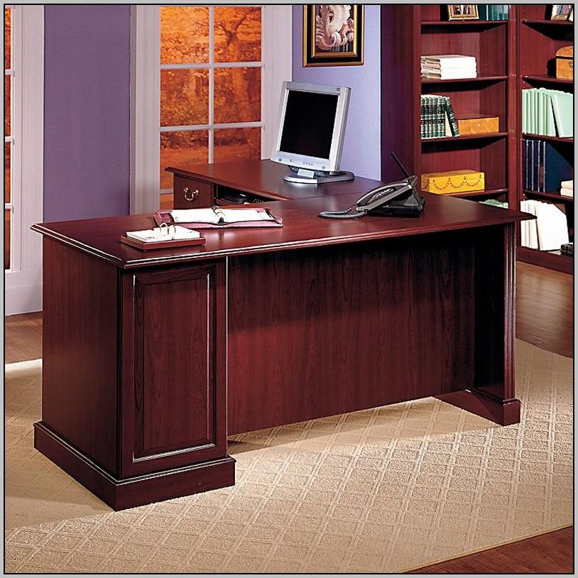 L Shaped Office Desk Wood