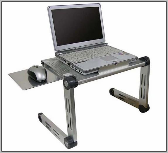 Laptop Lap Desk With Mouse Pad