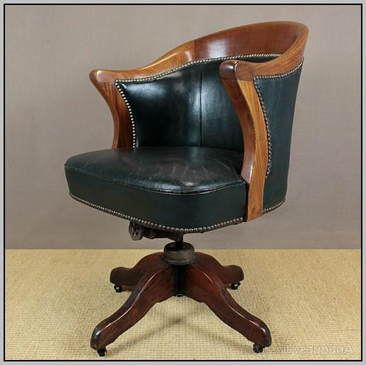 Leather Desk Chair Amazon