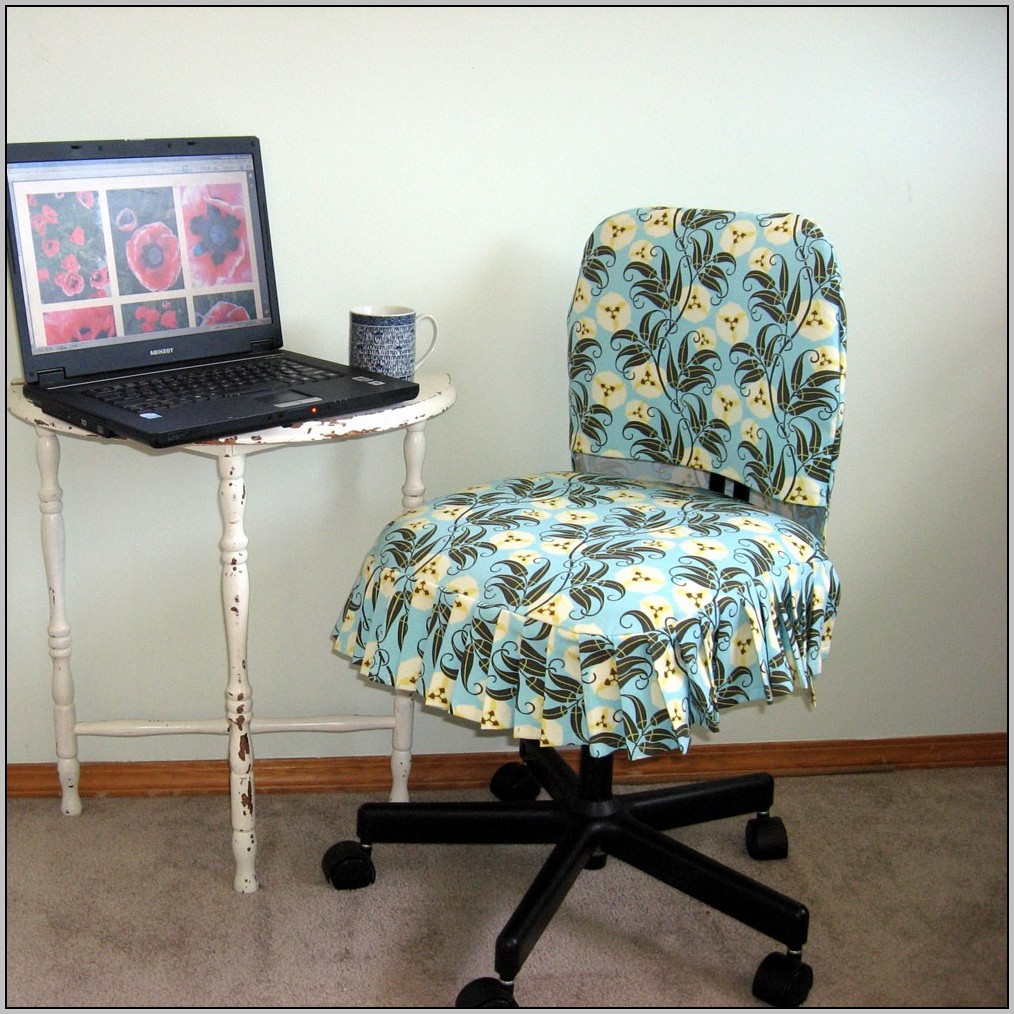 Leather Desk Chair Cover