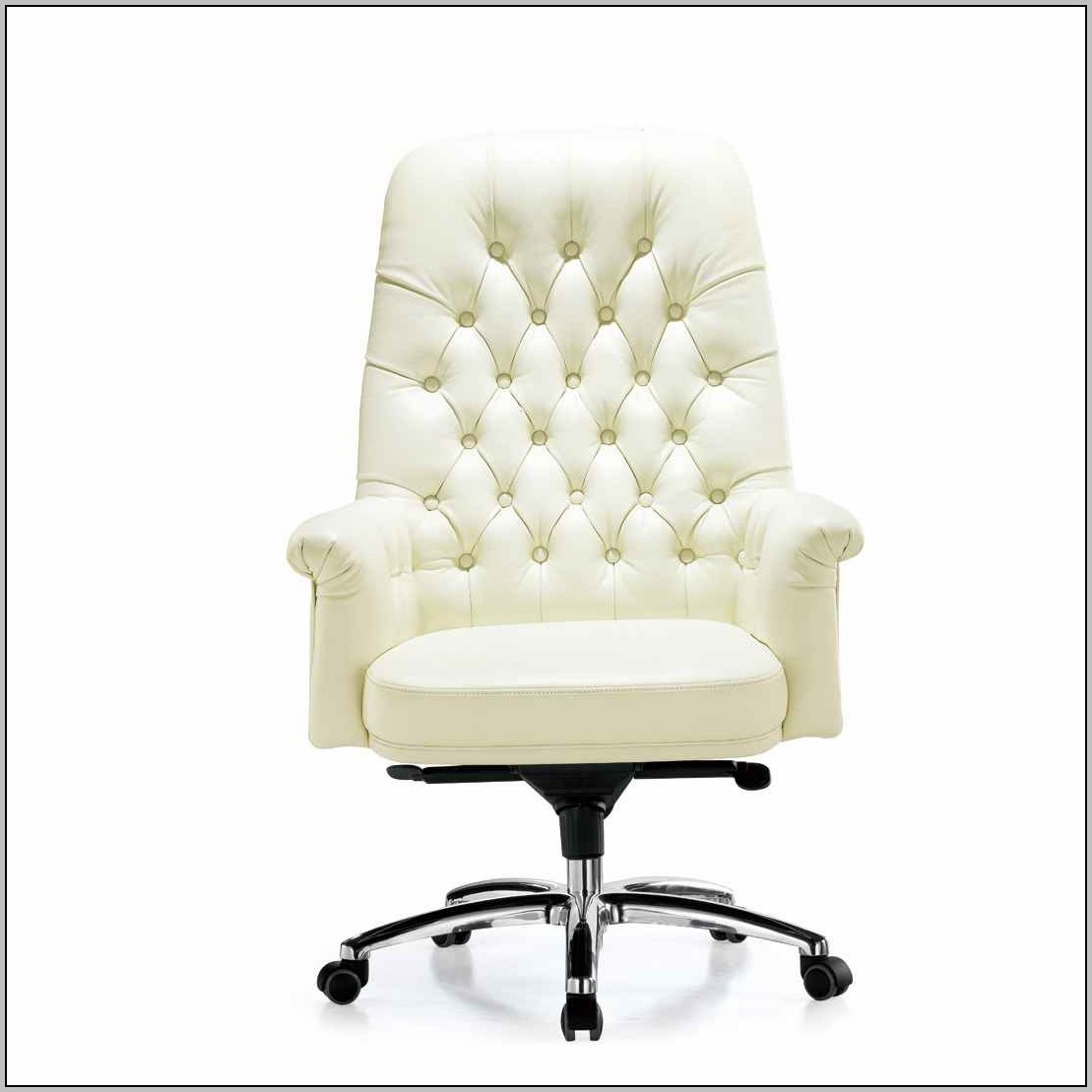 Leather Desk Chair No Arms