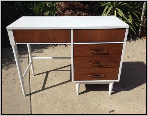 Mid Century Modern Desk Diy
