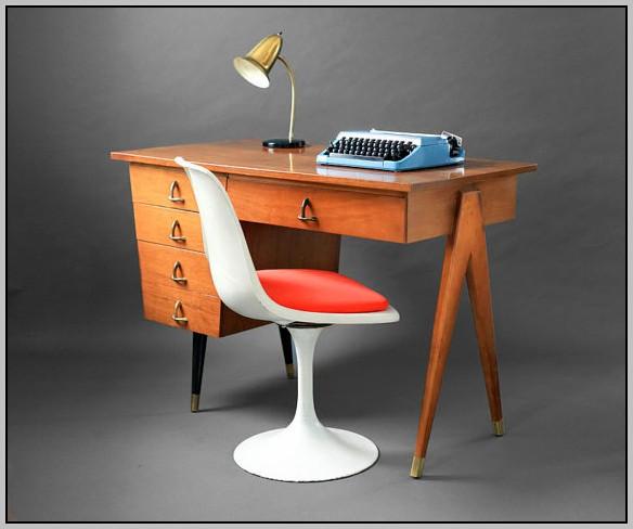 Mid Century Modern Desk Etsy