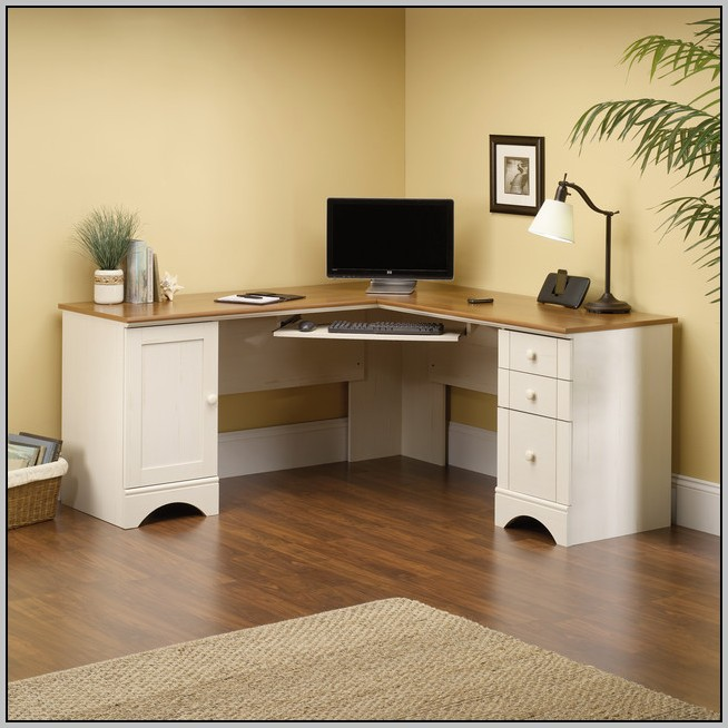 Modern Computer Desk With Drawers