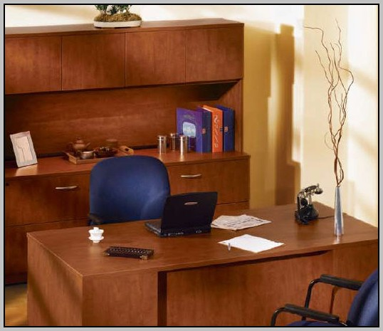 Office Depot Desks With Hutch