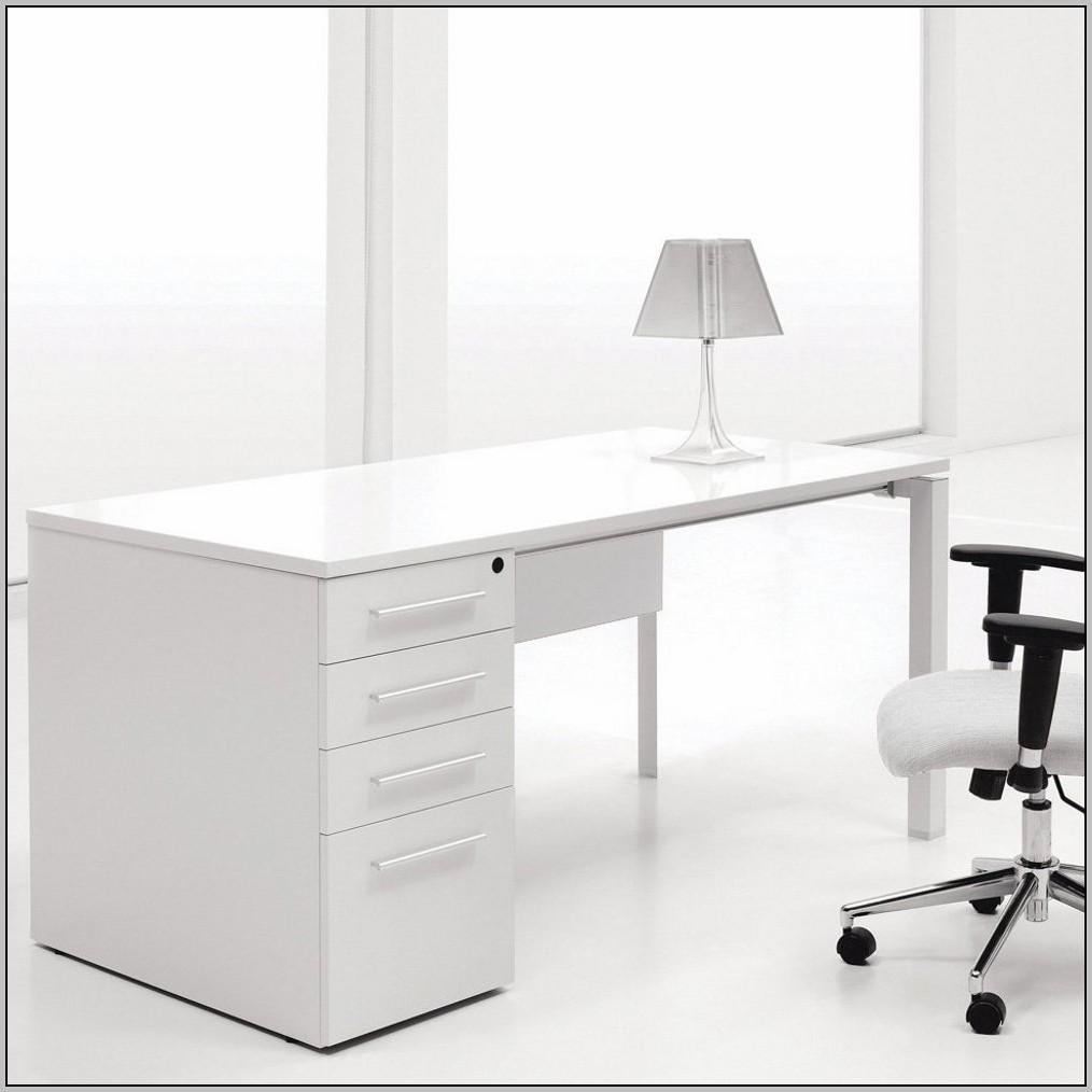 Small Writing Desk White