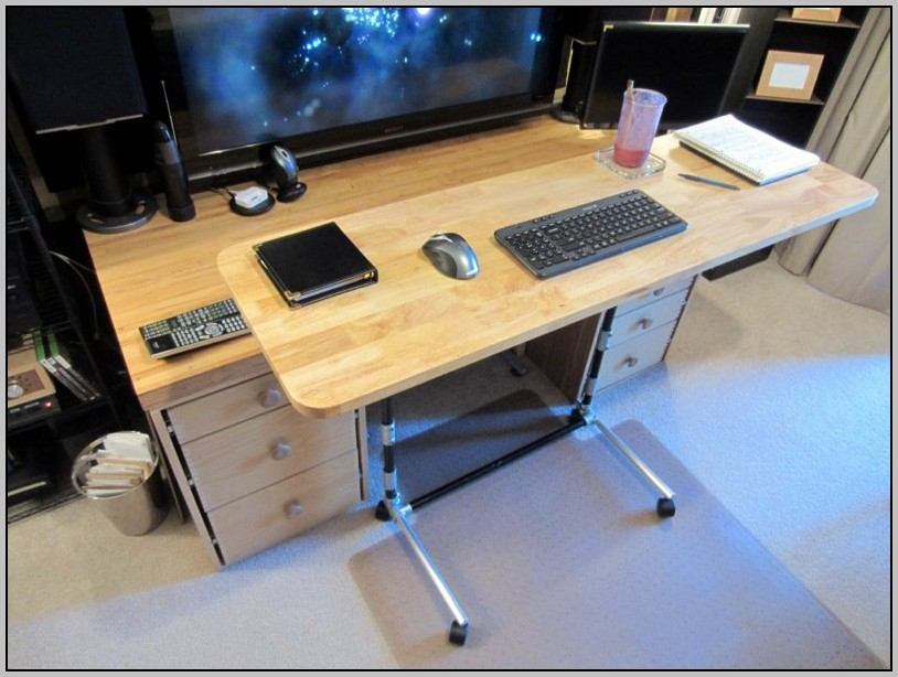 Standing Computer Desk Adjustable