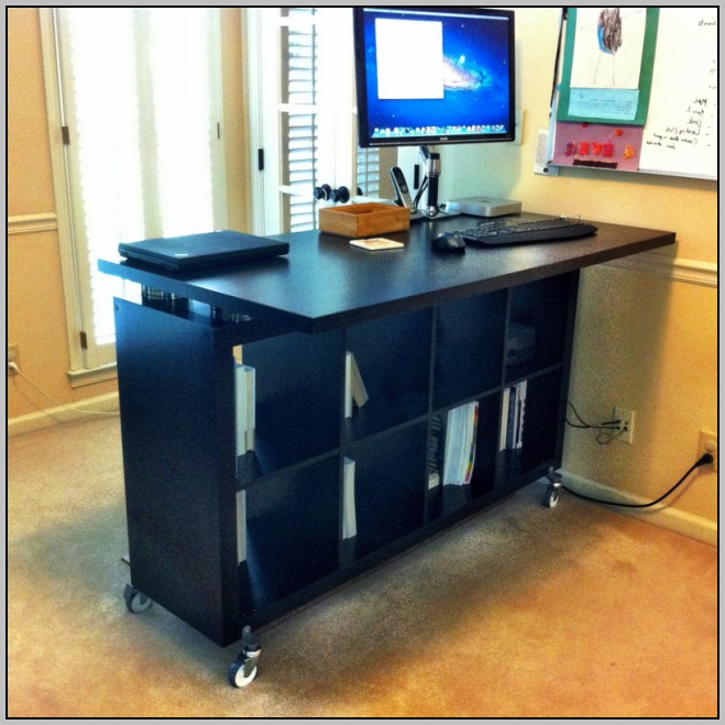 Standing Computer Desk Plans