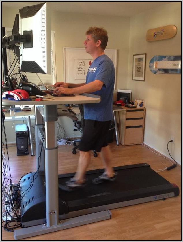 Standing Computer Desk Treadmill