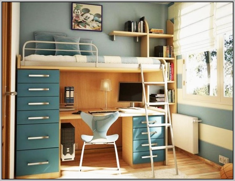 Twin Loft Bed With Desk Plans