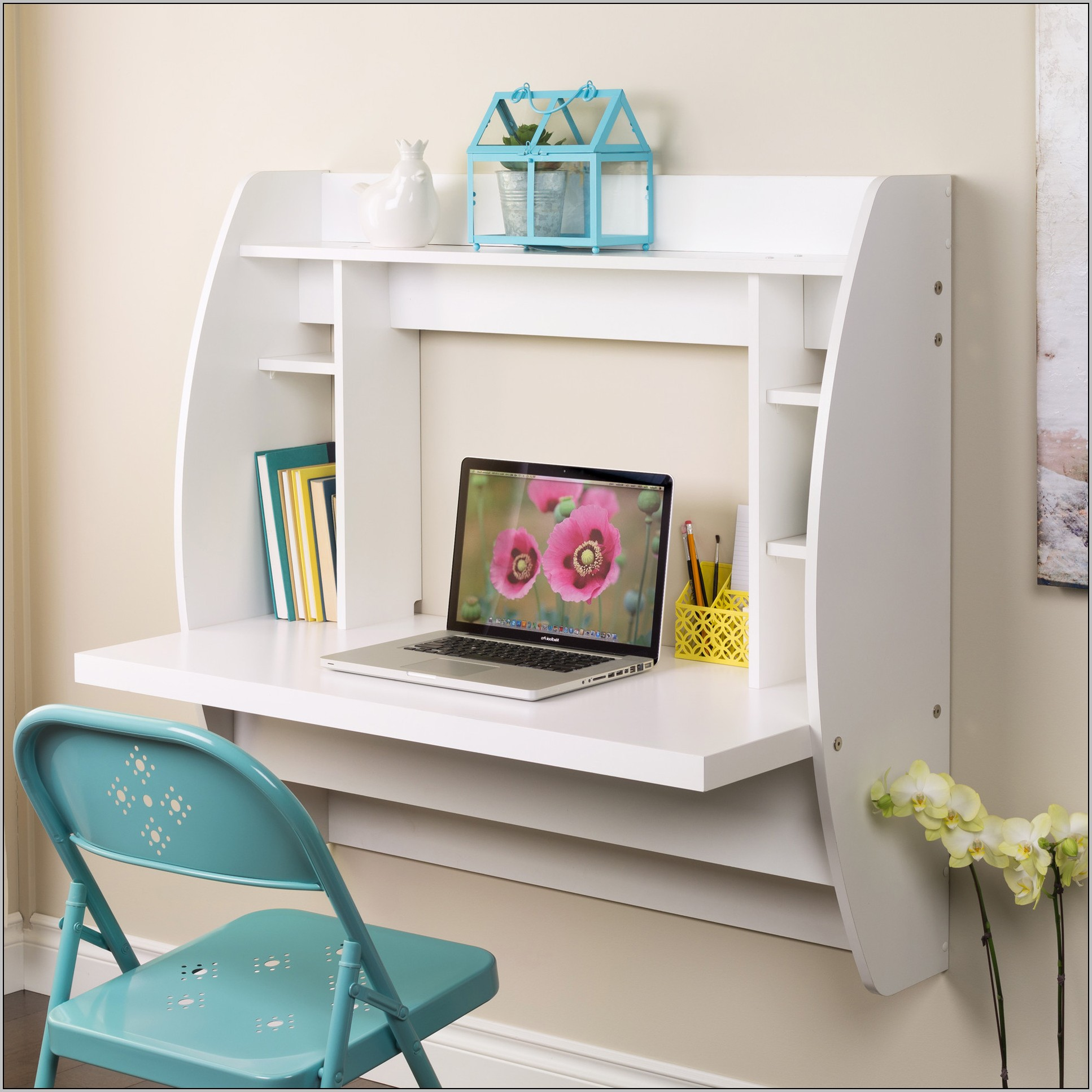 Wall Mounted Desk Fold Away