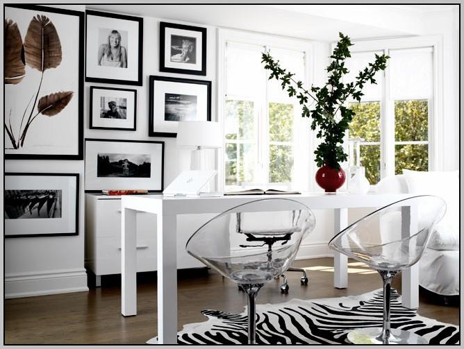 Acrylic Office Chair