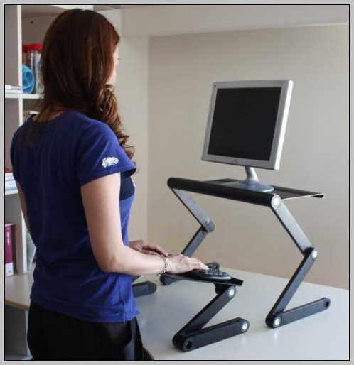 Adjustable Stand Up Desk Conversion