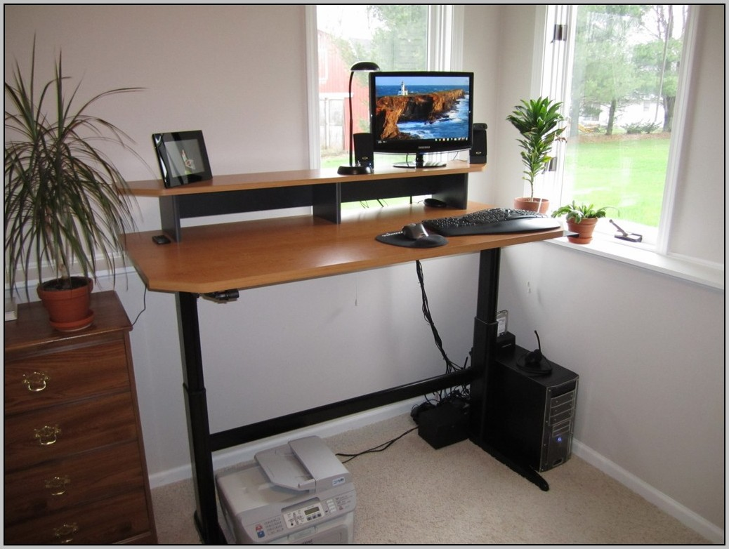 Adjustable Stand Up Desk Diy