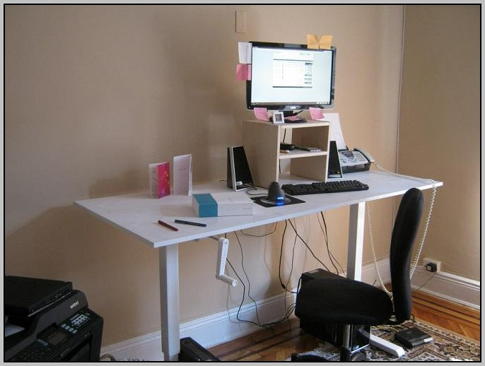 Adjustable Stand Up Desk Plans